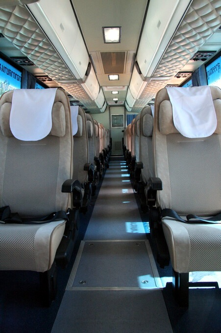 The Most Comfortable Bus Transfer From Bangkok Airport