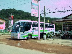 the bus station on koh chang